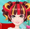 Funny Girl Hairstyle