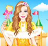 Barbie Diamonds Princess Dress Up
