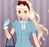 Anime Romantic Girl Dress Up