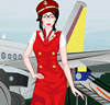 Sweet Flight Attendant Dress-up