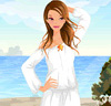 Summer On Luxury Beach Dress Up