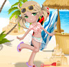 Beach Party Girl Dressup