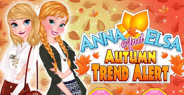 Anna And Elsa Autumn Trend Alert