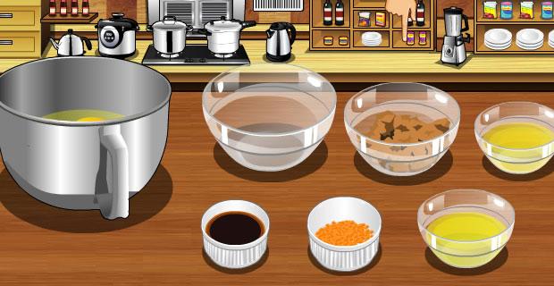 Make Orange Cake